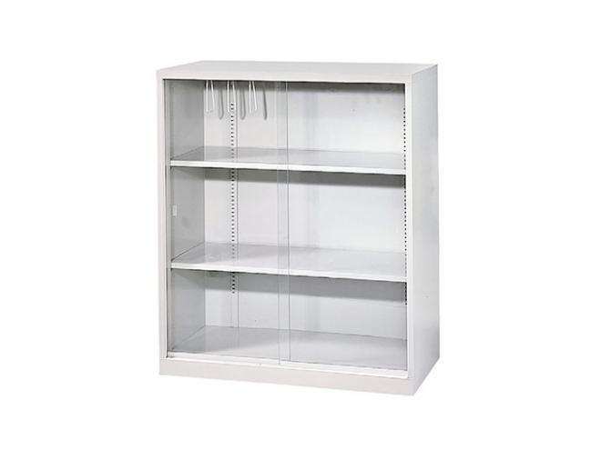 三層式玻璃門櫃