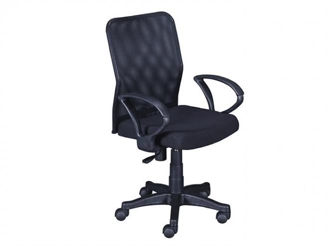 黑色辦公網椅