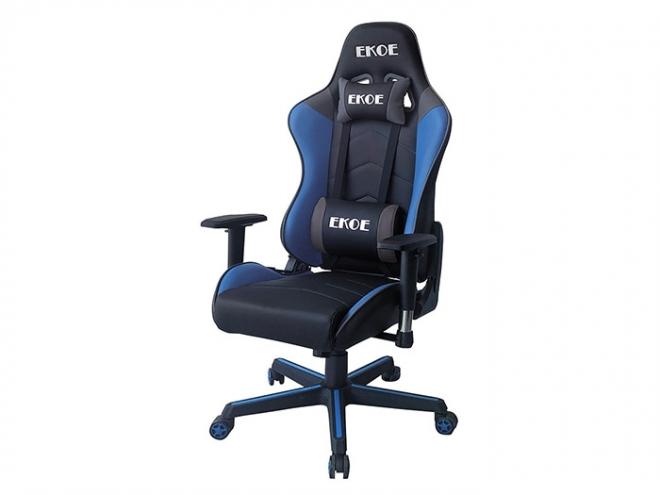 尊雅風範科技電競椅(藍黑)